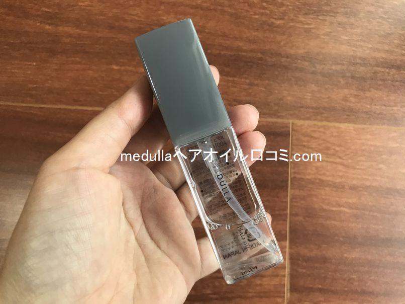MEDULLA(メデュラ)ヘアオイルはユニセックスなデザインのボトルがクール!